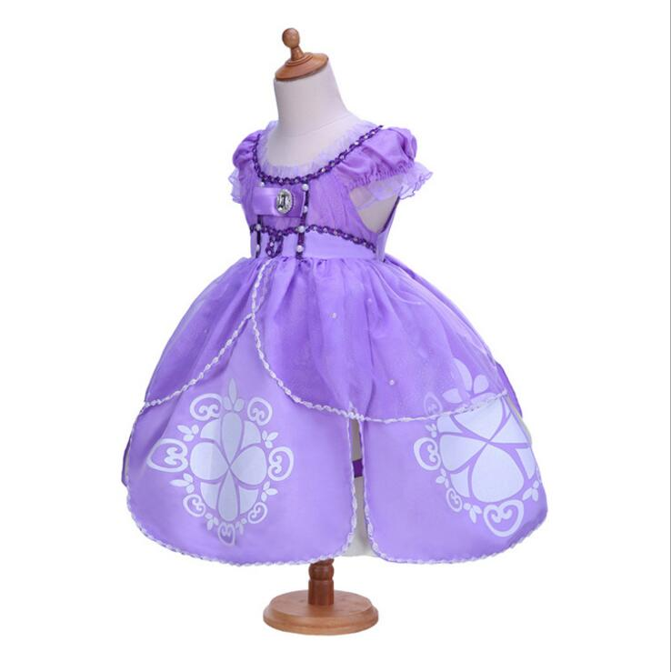2018 Princess Sofia Party Dress ,Baby Girl Princesa Sophia Costume ...