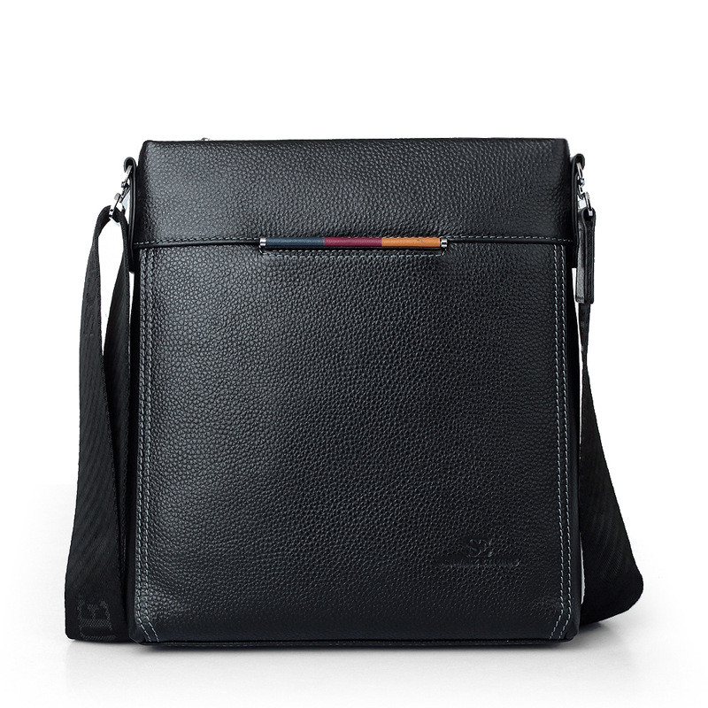69f25435d144 2019 New fashion genuine leather men messenger bag cowhide man shoulder bag  for iPad Unique design