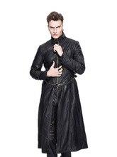New Mens Spring Autumn Punk Coat Fashion Long Detachable Hem Jacket Men s Pu Leather Hight