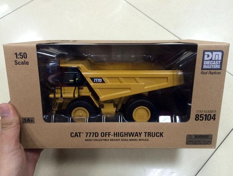 Caterpillar Cat 777D Off-Highway Truck DieCast 1/50 By DieCast Masters DM85104 Construction vehicles