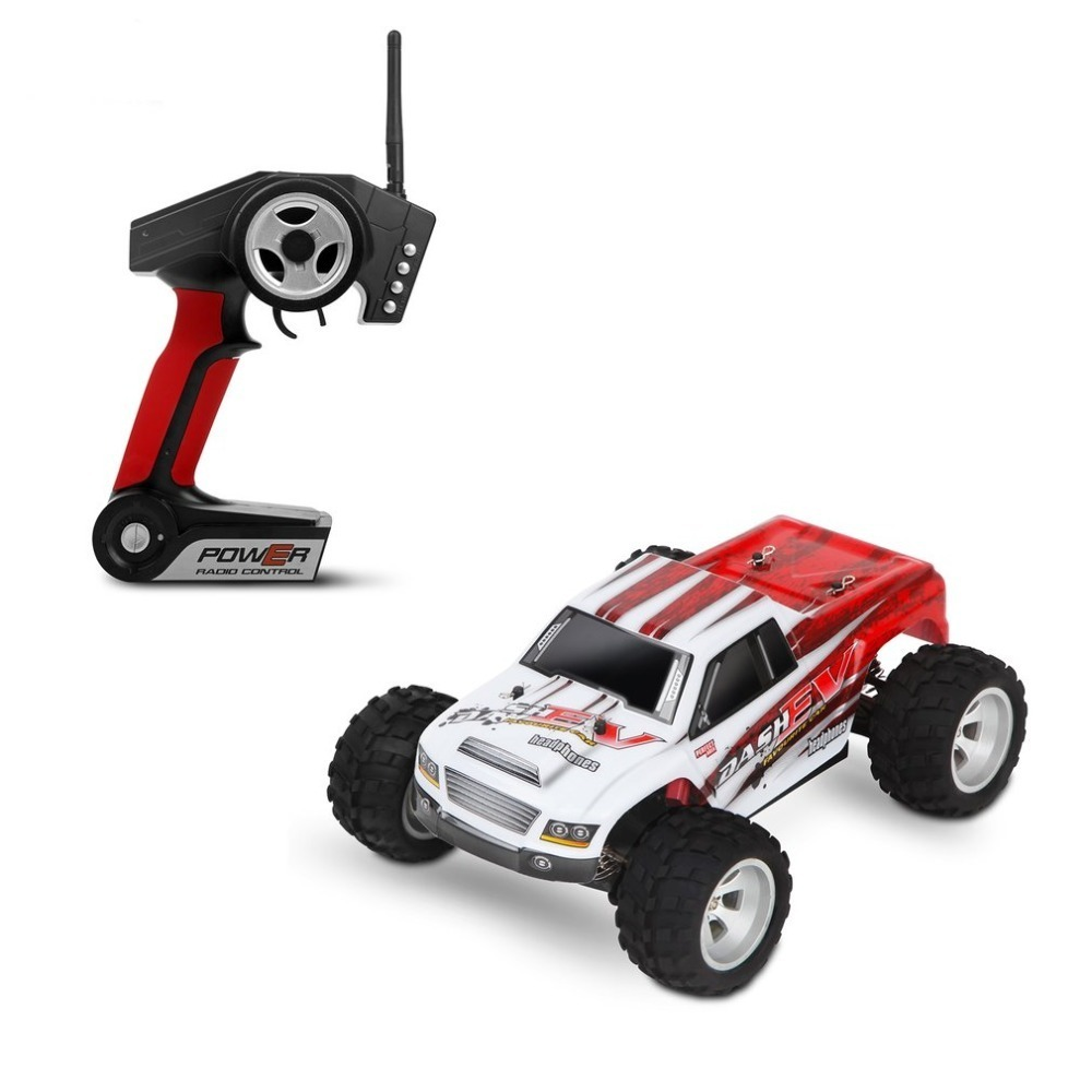 WLtoys A979-B 2.4GHz 1/18 Scale Full Proportional 4WD RC Car 70KM/h High Speed Brushed Motor Electric RTR Monster Truck