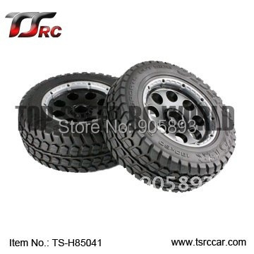 5T Front Off-road Wheel Set For 1/5 HPI Baja 5T Parts(TS-H85041),wholesale and retail+Free shipping!!! metal baja 5t wheel hub set two rear and two front wheels and beadlocks for 1 5 hpi baja 5t parts rovan km