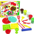 Children Cooking Pretend Play Toys Play Dough Model Colorful DIY Polymer Clay With Tools Block Brinquedos Safe Kid Toys