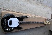 Envío libre 4 cuerdas Music man Stingray Bass bajo eléctrico con 9 V batería circuito amplificador activo pickups guitarra.