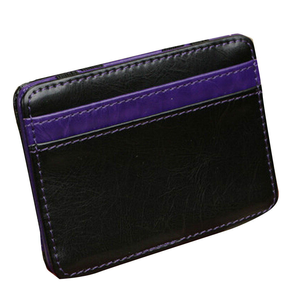 OCARDIAN monedero mujer Mini Neutral Grind Magic Bifold Leather Wallet Card Holder Wallet Purse Casual #30 2017 Gift mance designer wallets famous brand women wallet mini grind magic bifold leather wallet card holder wallet purse tarjetero mujer