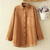 2019 Oversized Plus Size Causal Women Shirt Striped Yellow Shirt Women Spring Summer Long Shirt