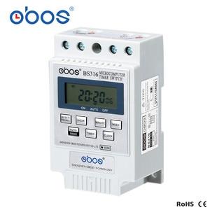 OBOS AC таймер BS316 Новый KG316T AC 220 В 25A din-рейка цифровой таймер