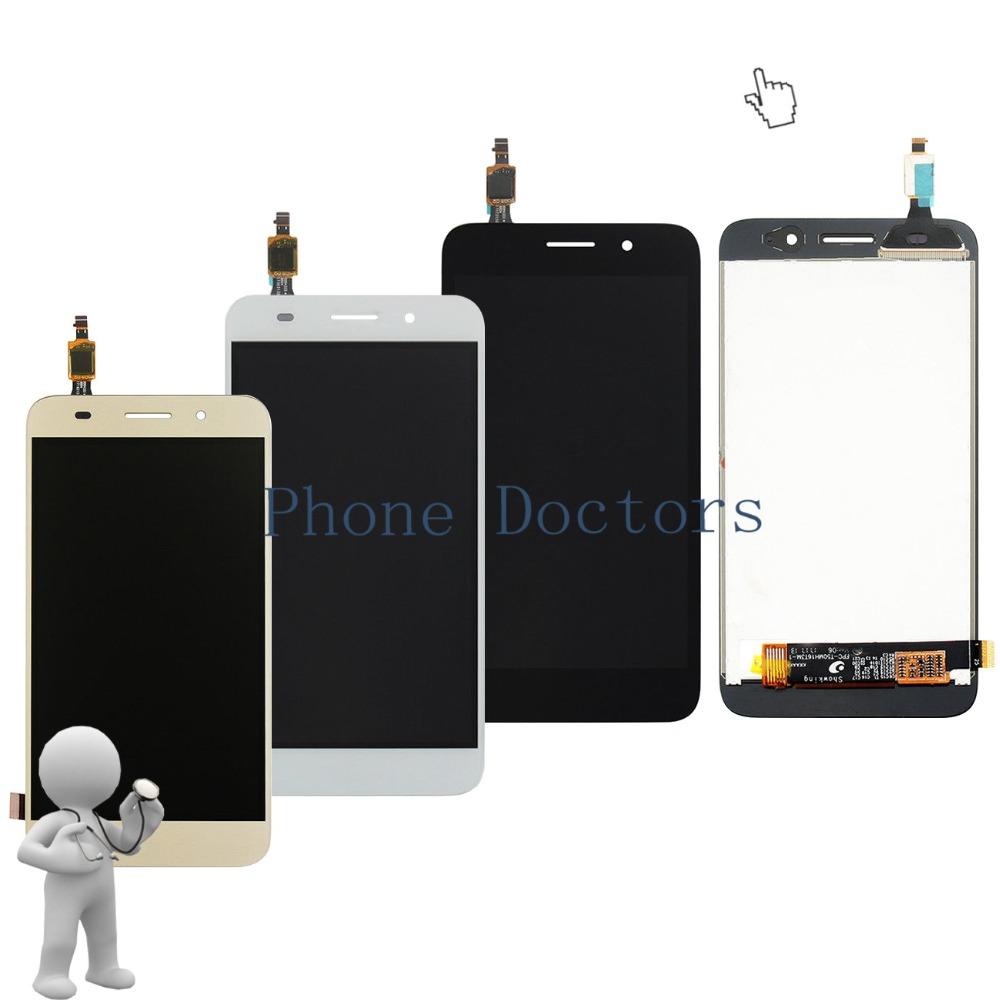 5.0 inch Full LCD DIsplay+Touch Screen Digitizer Assembly For Huawei Y3 2017 CRO-L02 CRO-L03 CRO-L22 CRO-L23 ; New ;100% Tested