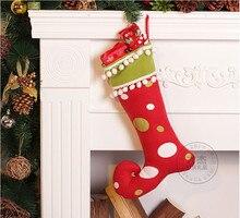popularity christmas gift handmade christmas stocking newchina - Handmade Christmas Stockings
