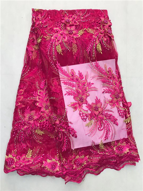 High Quality 2017 Fashion African Wine Lace Fabrics/French Net Embroidery Tulle Lace Fabric For Nigerian Elegant DressHigh Quality 2017 Fashion African Wine Lace Fabrics/French Net Embroidery Tulle Lace Fabric For Nigerian Elegant Dress