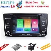 HIFIF 2 Din Car DVD GPS For Skoda Octavia 2012 2013 A 5 A5 Yeti Fabia