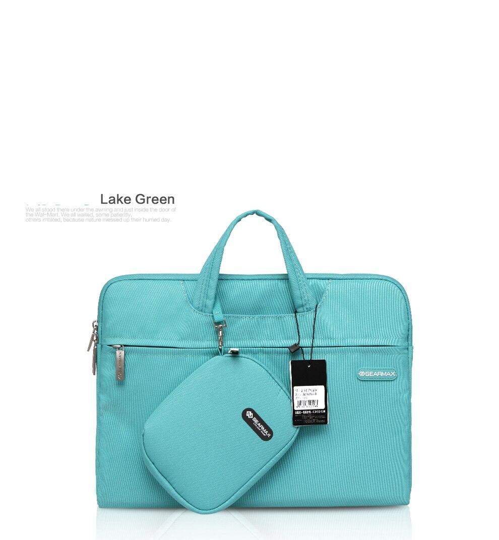 Waterproof Handbag Women Messenger Bag Laptop Case Briefcase Pouch For Macbook Retina 13 Air Pro 11 12 15 14 With Storage bag