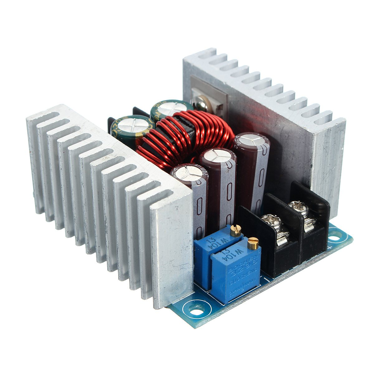 DC 6-40V To 1.2-36V 300W 20A Constant Current Adjustable Buck Converter Step-Down Module Board With Short Circuit Protection rs232 to rs485 converter with optical isolation passive interface protection