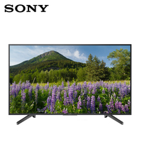 SONY ТВ 43 светодиодный 4 K UHD/KD43XF7096 ЖК дисплей, 3840x2160, светодиодный края, HDR, Linux, 3x HDMI, 3x USB, Wi Fi, Ethernet, 93 кВт/год, черный