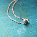 New Fashion Simple 100% pure sterling silver Necklace vintage Charm Bar hope Necklaces&Pendants For women gift couple necklace