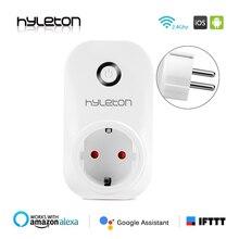 Hyleton smart plug wifi socket remote control switch 10A Support 2 4GHz Wifi plug Networks Electrical