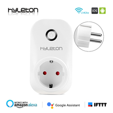 Hyleton smart plug wifi socket remote control switch 10A Support 2.4GHz Wifi plug Networks Electrical EU/US/AU/UK Power Switch