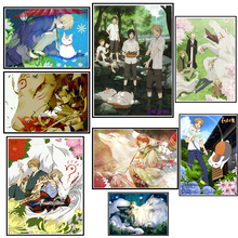 Natsume Yuujinchou cartoon poster Painting Drawing By Numbers no Frame Home Wall Decor Artwork 42*30cm
