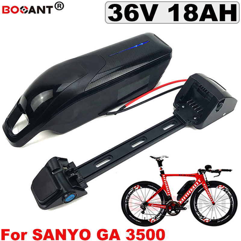 Best Lithium ion battery 18650 36V +Switch +USB Rechargeable Electric Bike Lithium battery pack 36V 18AH for Bafang 850W Motor