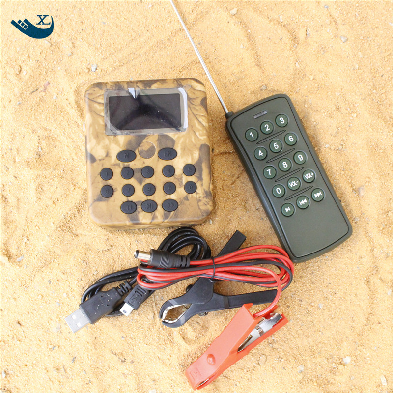 Wholesale Outdoor Hunting 50W 150Db Built-In 200 Mp3 Bird Sound Hunting Device Hunting Bird Sound Mp3 Player With Timer