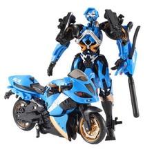 2017 Deformation Transformation 1pcs lot Kids Classic Robot Cars Toy For Children Mini Robot Vehicle Guard