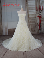 2017 New Design Hot Sale High Quality Lace Wedding Dress Bridal Gown Custom Made Off The