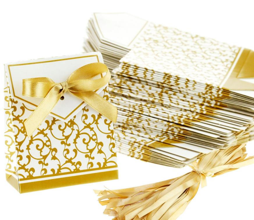 Wedding Favour Favor Bag Sweet Cake Gift Candy Wrap Paper
