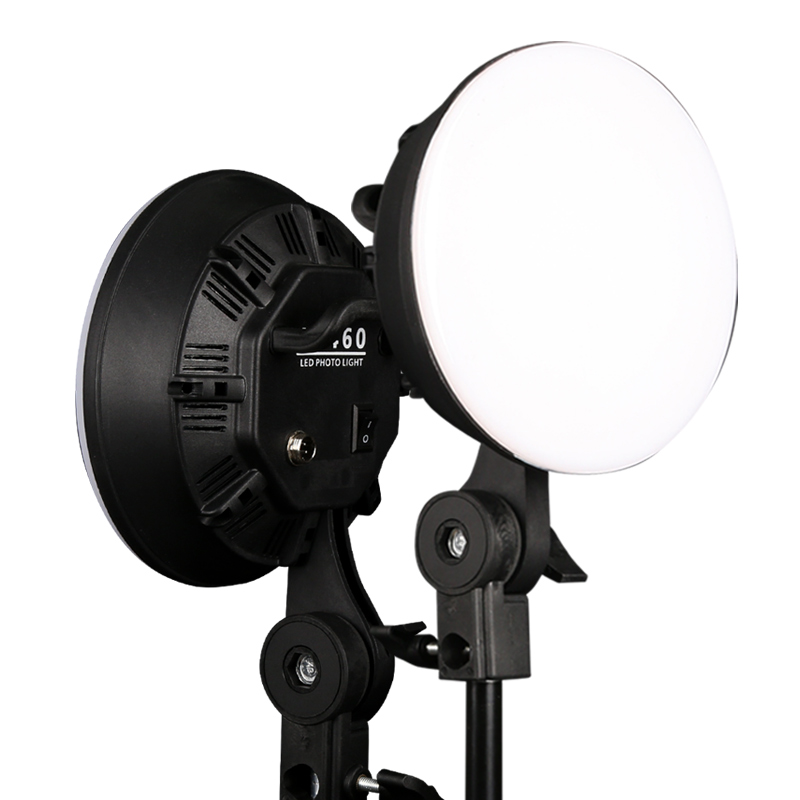 Image 4 - GSKAIWEN Photography Studio LED Lighting Kit Adjustable Light with Stand Softbox Tripod Photographic Video fill light-in Photographic Lighting from Consumer Electronics