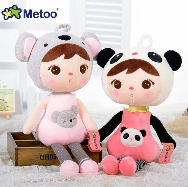 Metoo Doll Plush Sweet Cute Stuffed Brinquedos Backpack Pendant Baby Kids Toys for Girls Birthday Christmas Bonecas Keppel Doll