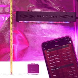 Image 5 - Phlizon 600 w lampe horticole led élèvent la lumière Plein Spectre Rouge Bleu UV intérieur fleur Led Lampes de Plus en plus Pour grandir tente boîte système de culture hydroponique
