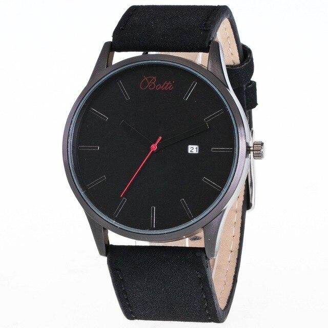 5ecf42969224 Ybotti moda casual relojes para hombre de primeras marcas de lujo reloj de  cuarzo de negocios