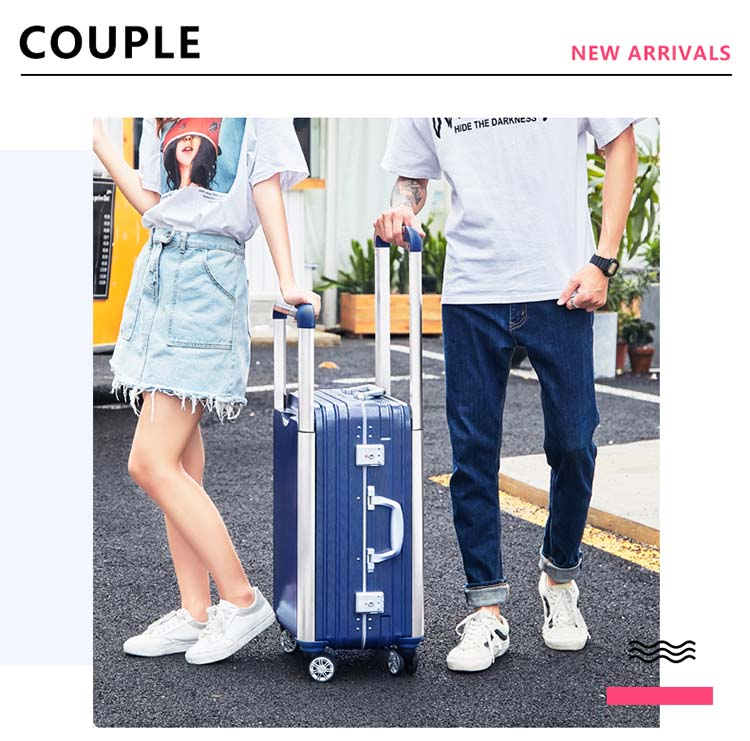 CARRYLOVE Couple Rolling Luggage Spinner Men Suitcase Wheels Women Trolley Aluminum Frame Travel BagCARRYLOVE Couple Rolling Luggage Spinner Men Suitcase Wheels Women Trolley Aluminum Frame Travel Bag