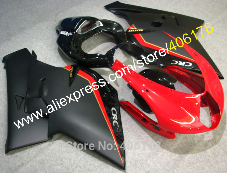 Hot Sales,CRC Red Black Body Work 05/06 For MV Agusta F4 1000 Fairings 2005/2006 ABS Plastic Aftermarket Sports Fairings Kit sadiq sagheer job stress role conflict work life balance impacts on sales personnel