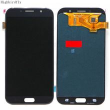 Amoled For Samsung A7 2017 A720 A720F/DS A720FD A720M A720Y Lcd Screen Display+Touch Glass DIgitizer Assembly Repair Amoled