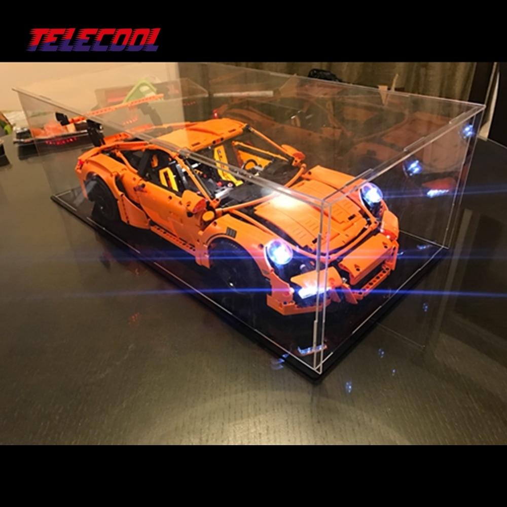 TELECOOL LED Light Block Up kit Only light set For Technic Series Porsche 911 GT3 RS