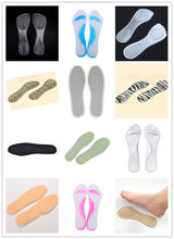 New Arch Support Anti-slip Foot Care Non-Slip Meb Women Cushion Orthopedic Insoles For High Heels Shoes Foot Care Tool(China)