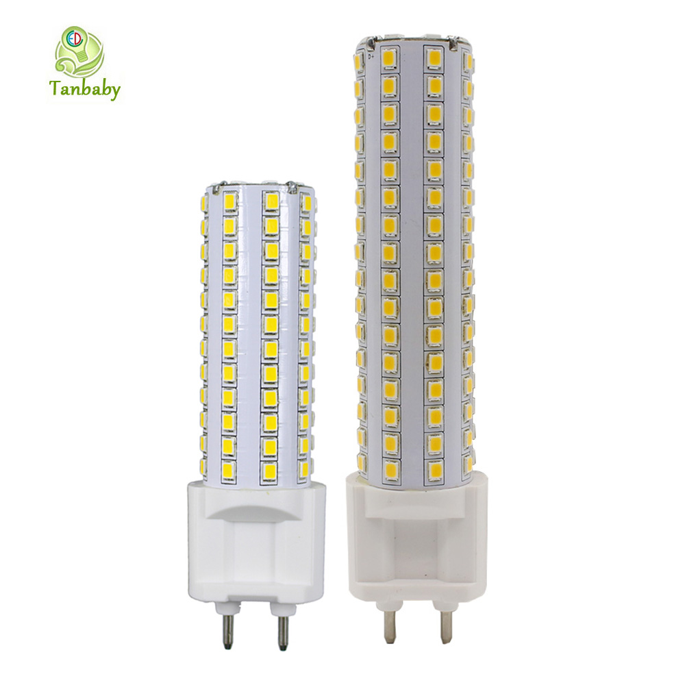 цены  Tanbaby G12 LED Bulbs 10W 15W SMD 2835 High brightness 360 degree lighting fixture corn bulb for home indoor lights AC85-265V