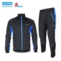 ARSUXEO Men S Windproof Bike Bicycle Wind Coat Fleece Thermal Winter Cycling Jacket Clothing Long Sleeve