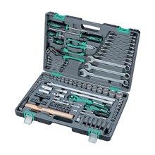 Набор ручного инструмента STELS 14112 (119 предметов из Высококачественной стали, кейс в комплекте)