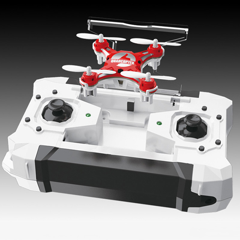 Mini Drone 4 Colors Small Pocket Drone FQ777-124 2.4G 6-Axis Gyro 4CH Headless One Key Return RC Quadcopter RTF Helicopter Dron (16)