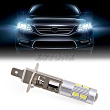 1pc 5630 SMD 10 LED H1 Halogen Car Lamp Fog Driving Light Bulb Headlight DC 12V(China)