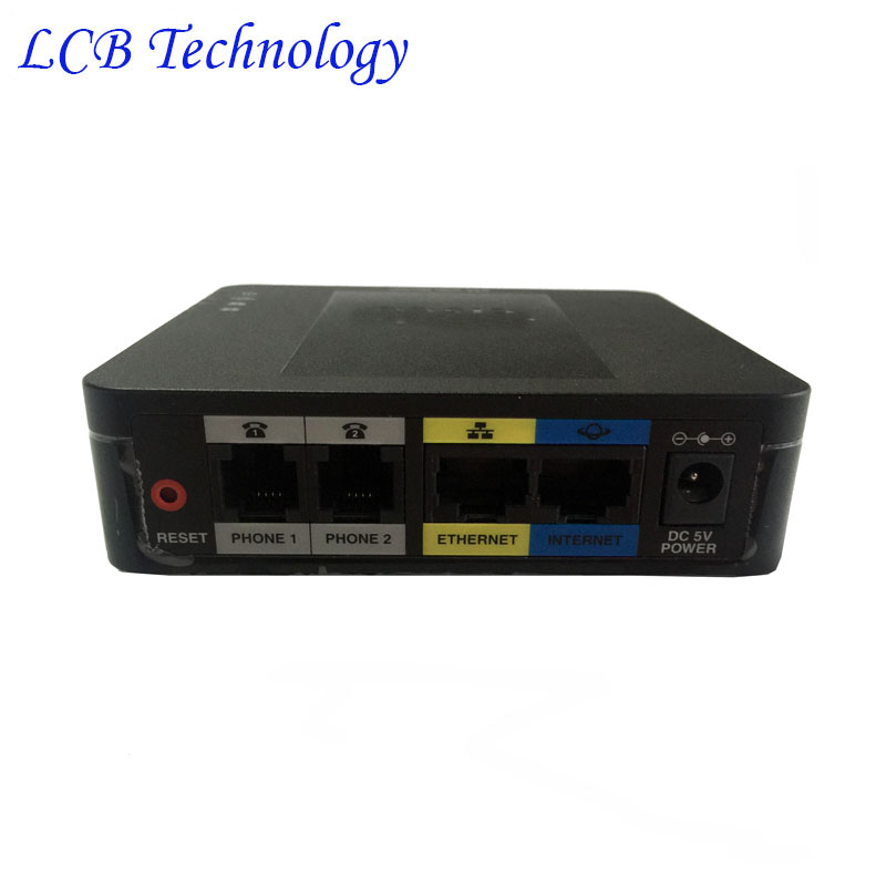 Открыл новый Linksys SPA122 2 FXS LAN WLAN ATA телефона voip Voice адаптер sip voip ata с маршрутизатором телефонный адаптер бесплатная доставка