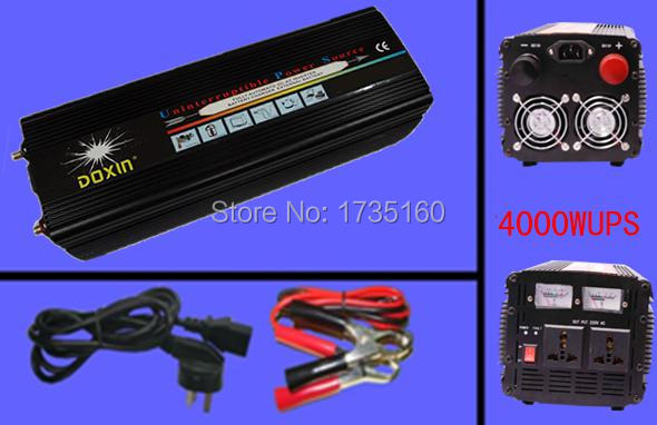цена на 10000W Peak uninterrupted power supply ups 5000w ups inverter automatic charge 12v to 220v