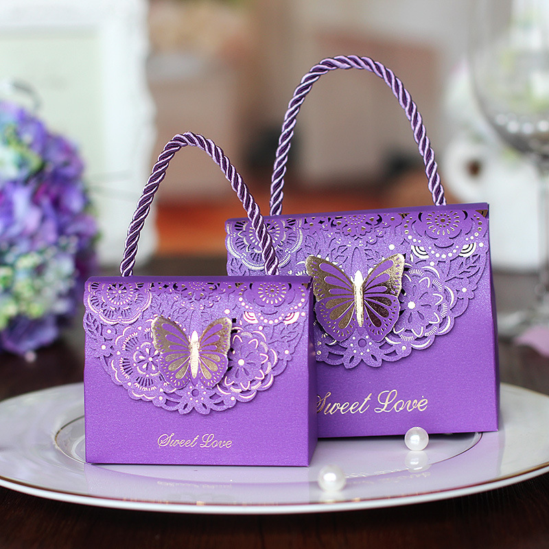 200pcs/lot High Quality Laser Cut Butterfly Flower Gift