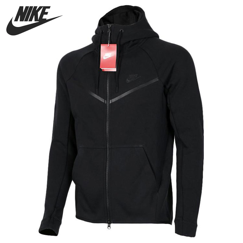 Original New Arrival  NIKE M NSW TCH FLC WR Men's  Jacket Hooded Sportswear