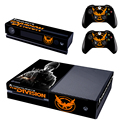 Tom Clancy's The Division Decal Skin Sticker for Microsoft Xbox One Kinect and Console and 2 Controllers Vinyl Game Stickers