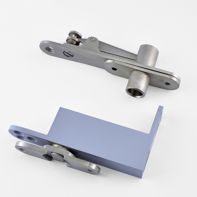 2Set Stainless Steel 304 Door Pivot Hinges Invisible Hidden Freely Door Hinges with Auto Soft Close Function Install Up and Down hot 2pcs stainless steel heavy duty pivot door hinges 360 degree up and down rotary hinges wood door hidden hinges