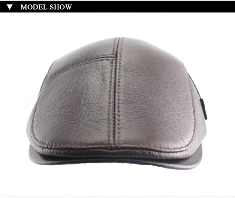 21d15aec5f3 BFDADI Big Size 62cm 2018 Faux Leather Baseball Caps Men Winter Hats ...