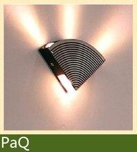 ВЕЛ коридор огни материал Алюминиевый LED 4 Вт питания Украсить фон светильник настенный светильник