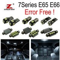 20pcs LED Interior dome map reading Lights bulb Kit for bmw 7 series E65 E66 745Li 750Li 760Li 745i 750i (2002 2008)